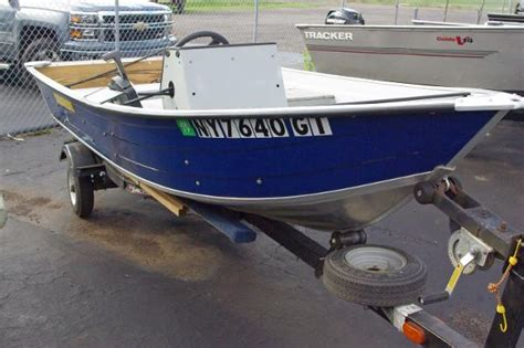 Used Aluminum Fishing Boats New York by Duroboat Boats For Sale In New York