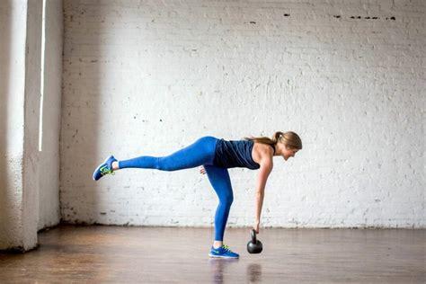 deadlift kettlebell workout pyramid leg single row amrap minute killer dead muscle lift burn fat side deadliftingtheproperway
