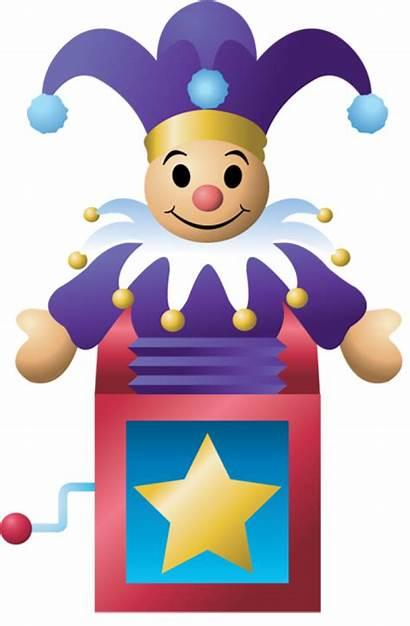 Jack Clipart Box Toy Clip Toys Transparent