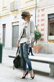 Casual Boyfriend Jeans Outfit