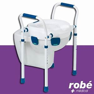 rehausse wc modele avec appui rehausses wc robe vente With www robe materiel medical com