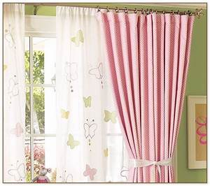 Light pink curtains for nursery for Light pink and gray curtains