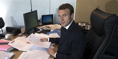 le de banquier verte emmanuel macron r 233 pond 224 ceux qui le r 233 duisent 224 pass 233 de banquier d affaire le lab europe 1