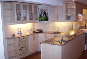 corner kitchen cabinet white kitchen features glassfront