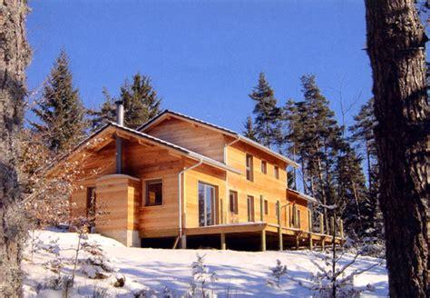 maison bois haute loire la maison ossature bois par jacques pouzin haute loire