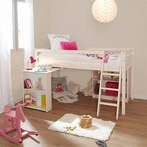 Lit Bureau Enfant : 10 lits enfants en mezzanine pour s 39 inspirer blog but ~ Farleysfitness.com Idées de Décoration