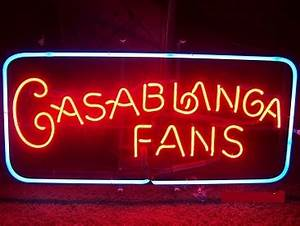 Casablanca Fan Neon Sign