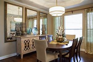 dining room wall decor with mirror Dining room decor
