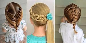 Coiffure Enfant Tresse : tresses faciles pour enfants 39 superbes photos coupe de cheveux ~ Melissatoandfro.com Idées de Décoration