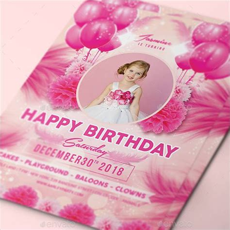 birthday invitation designs word psd pages ai