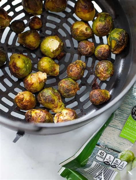 sprouts frozen air fryer brussel brussels serve way