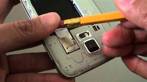 samsung galaxy  easiest   remove sim card