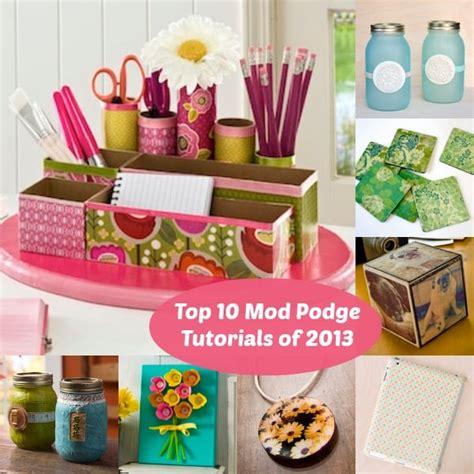 mod podge ideas crafts top 10 mod podge craft tutorials of 2013 mod podge rocks 4979