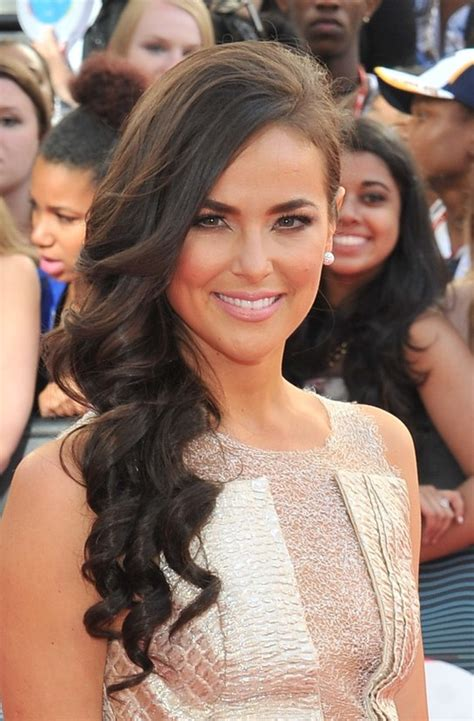 chloe wild hairstyles side swept prom hairstyle  long
