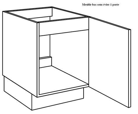 porte meuble sous evier cuisine meuble cuisine sous evier 60 cm table de lit