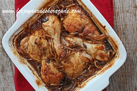 recette cuisine asiatique recette de poulet braisé à l 39 anis étoilé et orange les