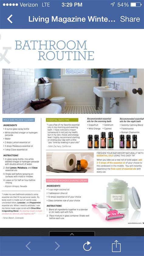 Essential Oils For Cleaning Bathroom by 1000 Images About Cleaning With Young Living On Pinterest