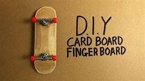 D I Y Cardboard Fingerboard