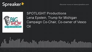 Lena Epstein, Trump for Michigan Campaign Co-Chair, Co ...