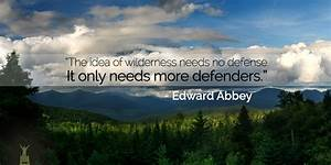EDWARD ABBEY QUOTES image quotes at relatably com