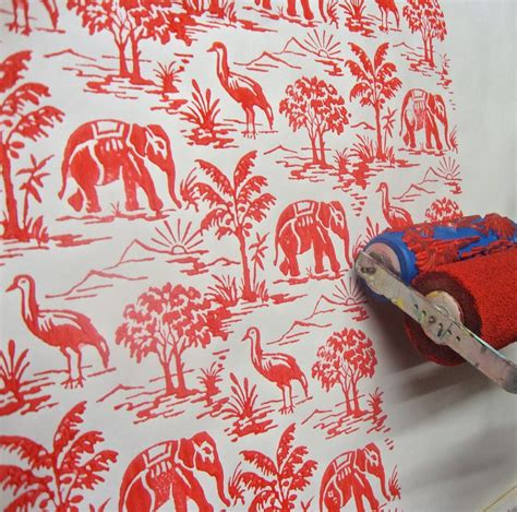 Malerrolle Mit Muster by 98 Best Images About Wallpaper On The Sixties
