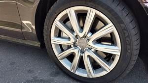 Audi A6 OEM 18x85 Wheels And 2454518 Eagle LS2 Tires