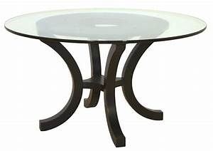Simple round glass top coffee table using chrome metal leg for Circular glass top coffee table