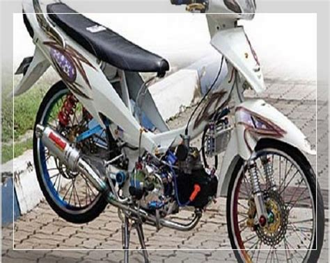 Gambar Modifikasi Supra X 125 Fi by Gambar Modifikasi Supra X 125 Fi Simple Standar Thailook