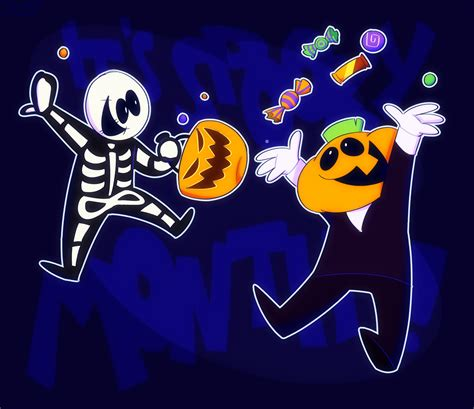 Its Spooky Month By Spacewve On Newgrounds