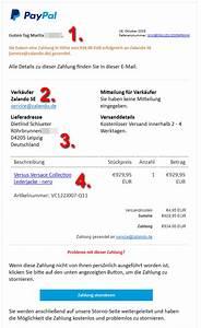 Rechnung Zalando : warnung mail gibt sich als rechnung von zalando aus mimikama ~ Themetempest.com Abrechnung