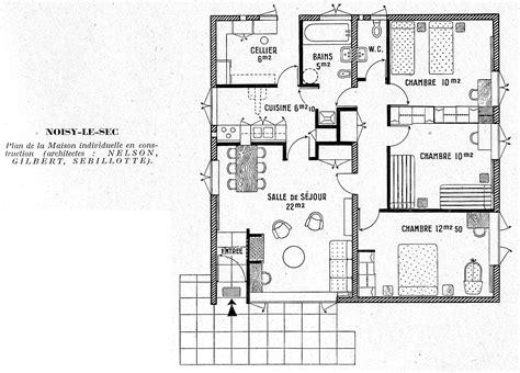 plan de maison gratuit 4 chambres plan maison moderne 4 chambres