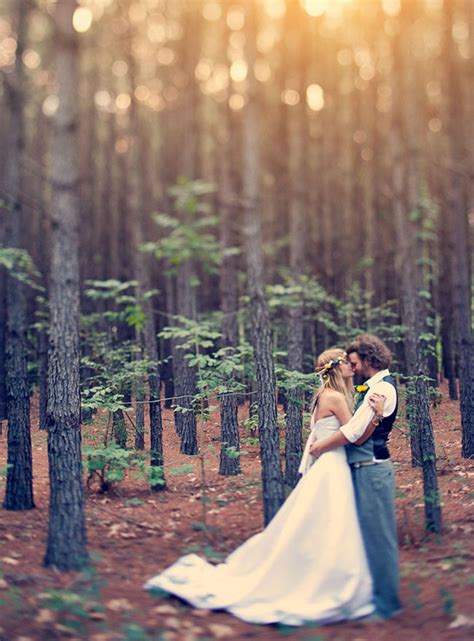 20 enchanting wedding ideas for woodland brides tulle chantilly wedding