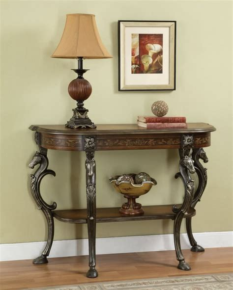 decorating ideas bathroom furniture simple wooden entryway table in brown