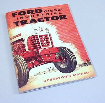 ford    gas industrial tractor owners