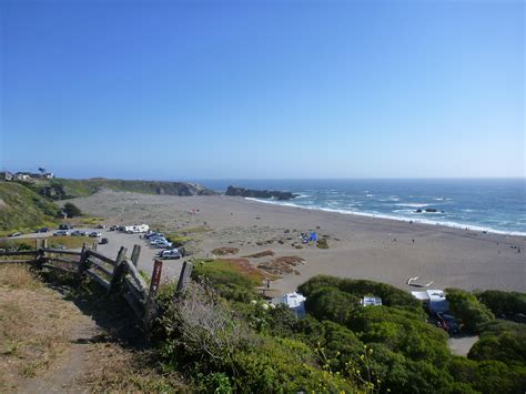 Wrights Beach Campground  Sonoma Coast State Park