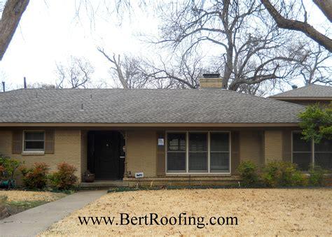 pin  bert roofing   gaf roofs installed  bert