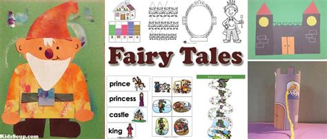 time fairy tales activities  lessons kidssoup