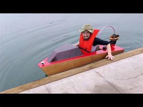 Mini Boat Kit Rapid Whale by Rapid Whale Mini Boat The Awesomer