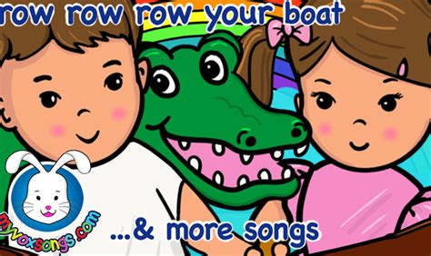 Row Row Row Your Boat Lyrics And Actions by Row Row Row Your Boat And More Nursery Rhymes
