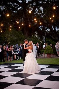 Real florida wedding taylor stephen part ii wedding for Wedding dance floor size
