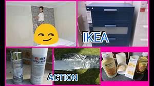 Papier Peint Action : vlog 5 chambre de gabi pose du papier peint petit tour ~ Melissatoandfro.com Idées de Décoration