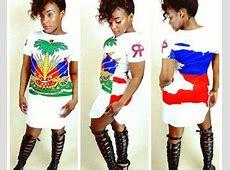 Haiti Flag Shirt Dress White Clothing Ideas Pinterest