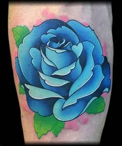 Looking for unique Jeff Ensminger Tattoos? Blue rose
