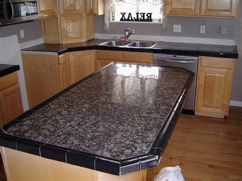 Awesome Best Tile For Countertop Kitchen  Gl Kitchen Design