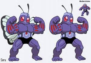 Pokemon Fusion Butterchoke