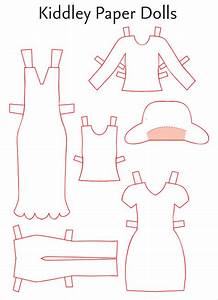 paper dress up dolls template 28 images best photos of With paper dress up dolls template