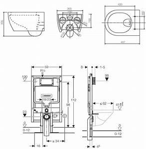 Dimension Wc Suspendu : encombrement wc suspendu geberit ~ Premium-room.com Idées de Décoration