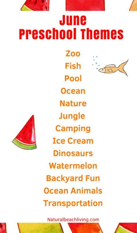 summer theme lesson plans for preschoolers june preschool themes with lesson plans and activities 282