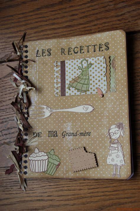 cahier de cuisine vierge cahier de recettes scrap