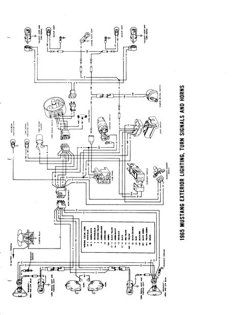 1964 189 1965 wiring diagram manual ford mustang